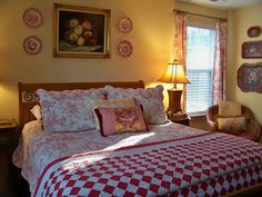 decorating with red toile - Google Search