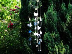 Jak wykonać migające gwiazdkowe wietrzne dzwonki - Pomysły plastyczne dl...