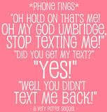 Day 9: My favorite line (or lines, in this case) is in AVPS with the whole Umbridge texting thing.