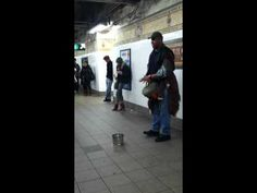 amazing rendition of someone like you on the subway platform in nyc