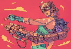 O futuro é agora na distopia ilustrada de Josan Gonzalez