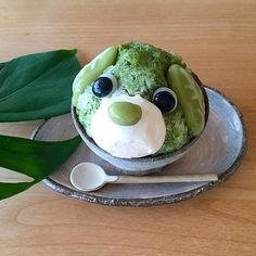 Patbingsu, Global Cooling, Ice Shavers, Shave Ice, Snow Cones, Cafe Menu, Ice Cream Desserts, Dessert Decoration, Bubble Tea