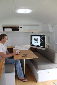 Living Large in an Airstream Trailer