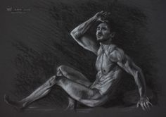 Figure 15, Leo Plaw, 34 x24cm, pastel pencil and charcoal on coloured paper 300gsm  More of my artwork can be found on my website. http://LeoPlaw.com And if it takes your fancy, subscribe to my newsletter. http://LeoPlaw.com/newsletter  #art #drawing #figurativeart