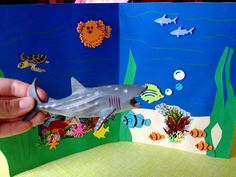 Deep Sea Panorama Craft and Shark Week Fun for Kids!
