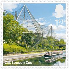 UK A-Z Stamps: ZSL London Zoo