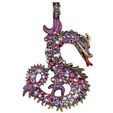 NEW KIRKS FOLLY DRAGON RIDER MAGNETIC ENHANCER BRASSTONE/ PURPLE PASSION