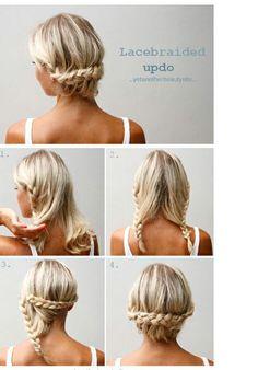 Braid up-do