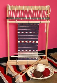 Floor Loom   I WANT · Navajo WeavingNavajo RugsTapestry ...