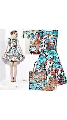bf3fcf64d1af ALICE + OLIVIA Runway Sample Paradise Butterfly Venetian Summer Dress Size 6