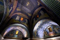 RAVENNA, ITALY -- Seven of Ravenna's eight buildings from the fifth and sixth centuries are spectacularly decorated with examples of this ancient art. http://on.natgeo.com/1eauKbq