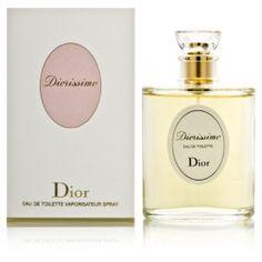 DIORISSIMO EDT 100ml, Diorissimo de Dior es una fragancia romántica de los años 50. Diorissimo es fresco y claro, al igual que una mañana de primavera cubierta de rocío en el bosque.Palo de rosa, lirio de los valles de Muguet, ylang-ylang, Amaryllis, Boronía, jazmín y sándalo.