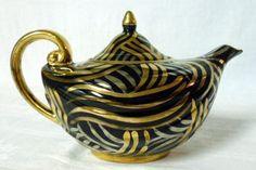 Arthur Wood Art Deco Aladdin Lamp Teapot Tea Pot