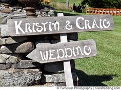 backyard wedding ideas on a budget | Rustic is a huge trend in weddings and these outdoor/backyard wedding ...