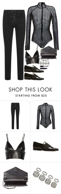 """""""Untitled #1842"""" by samikayy76 on Polyvore featuring rag & bone, David Koma, T By Alexander Wang, Stuart Weitzman, Yves Saint Laurent, Topshop and Chanel"""