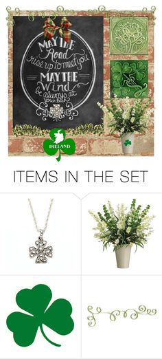 """Irish Blessing"" by skpg ❤ liked on Polyvore featuring art"