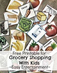 distract the kids and make grocery shopping less horrible on the parents :)