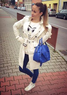 Blue bag Zara