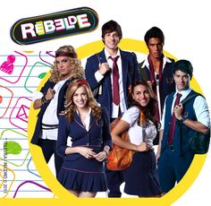 Rebeldes- Minha Banda Favorita!