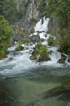 Terawera Falls, New Zealand