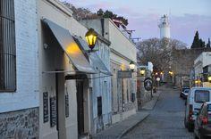 esas callecitas del barrio Histórico de Colonia