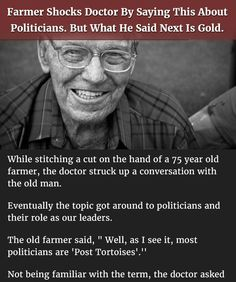 DOCTOR IS SHOCKED WHEN FARMER SAYS THIS ABOUT POLITICIANS. BUT WHAT FOLLOWED IS GOLD. -
