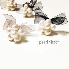 pearlribbon(リボン)のハンドメイドアクセサリーが可愛い | marry[マリー]