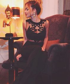 """Giulia Gaudino wearing Mangano jumpsuit """"Senow"""" ✨ available on our shop online"""