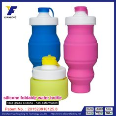 water bottles promotional products bpa free foldable water bottle