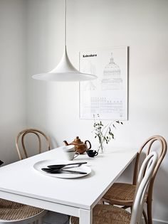 Is To Me | #interior inspiration #diningroom Poster available at istome.co.uk