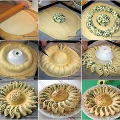 Sunny Spinach Pie When you're hosting a party, you want to surprise your guests with something out of the ordinary and extra special. This sunny spinach pie recipe will delight your guests and have them beggingSavory Spinach Pie Recipe If a delicious dish Sunny Spinach Pie Recipe, Spinach Recipes, Bread Recipes, Cooking Recipes, Pastry Recipes, Appetizer Recipes, Appetizers, Dinner Recipes, Spinach And Cheese