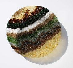 Sigi Hill Glass - Coastal Bowl Knitted Hats, Coastal, Fruit, Glass, Food, Drinkware, Corning Glass, Essen, Meals