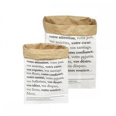 Paper bag Merci