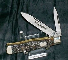 Winchester Jack Knife Swell Center Coffin Jack USA Circa-1987 3-1/2 Closed Rare @ ditwtexas.webstoreplace.com