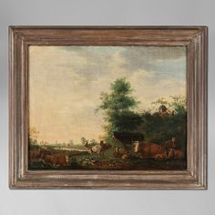 Timothy Langston - A Late 17th Century Flemish Pastoral Landscape