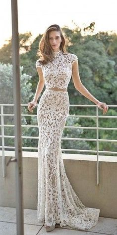 wedding dresses two pieces 20