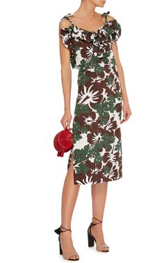 Rosie Assoulin Blooming Onion Midi Dress $1,595