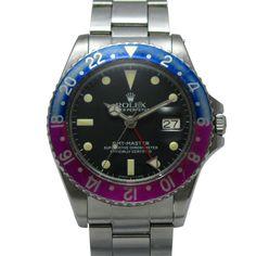 時計 格安アンティーク1675ロレックスGMTマスター赤青ベゼル Watch rolex ¥890400yen 〆04月02日