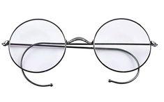 973b495d64 Agstum Retro Round Optical Rare Wire Rim Eyeglass Frame (Without Nose Pads)