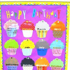 birthday board ideas Birthday bulletin board ideas Cute Baby