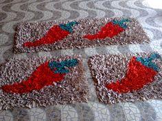 Como fazer tapete de retalhos 09