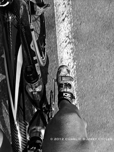 Bike: Marinoni. Shoes: Sidi. Groupo: Campy. Rider: British. Go figure.