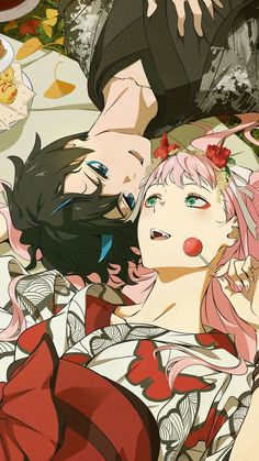 Awesome anime wallpaper to brighten up your desktop. In this list, I will recommend you some of the best anime wallpaper around. Manga Anime, Art Anime, Anime Kunst, Humour Geek, Tamako Love Story, Image Manga, Estilo Anime, Zero Two, Fan Art