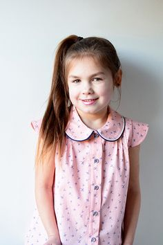 Nina blouse from Coffee and Thread Girls Dresses, Flower Girl Dresses, Polka Dot Top, Coffee, Wedding Dresses, Blouse, Tops, Women, Fashion