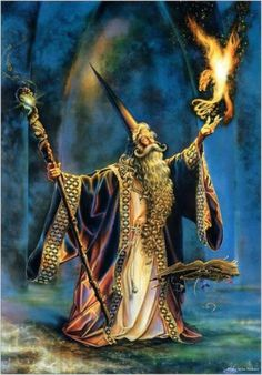 Merlin and his Phoenix.