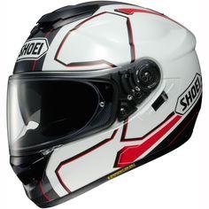 Shoei GT Air Helmet Pendulum TC-6 - White Black Red || FREE UK Delivery | FREE UK Returns