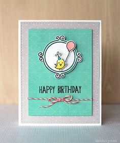 Lawn Fawn Flirty Frames; birthday; Lawn Fawn Hippo Birdie; Lawn Fawn Year 4; quick; fast; clean and simple