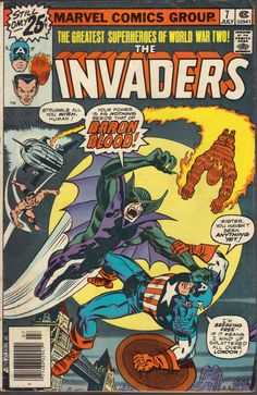 The Invaders Comic | The Invaders No.7 (1975 - 1979) Marvel Marvel Comics