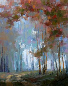 Picturesque landscapes of the American artist David Mensing: elesika73