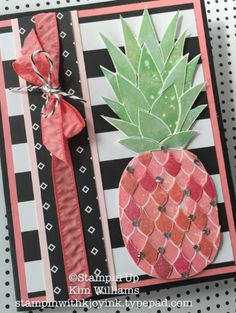 Stampin Up Pineapple